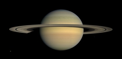 カッシーニの撮影した土星