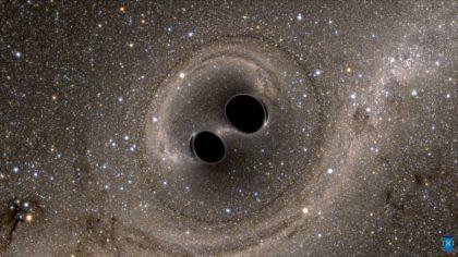 ブラックホール連星イメージ